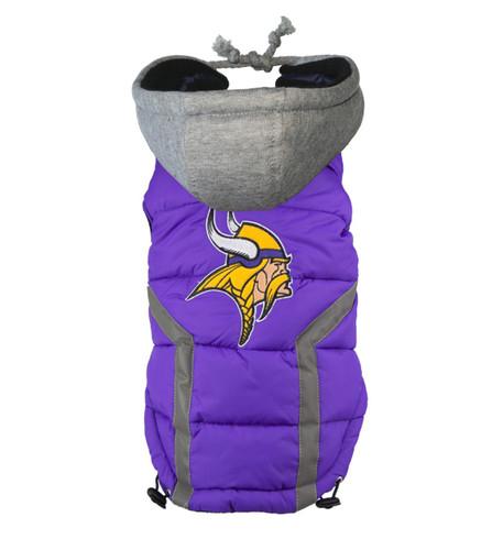 NFL Minnesota Vikings Dog Puffer Vest