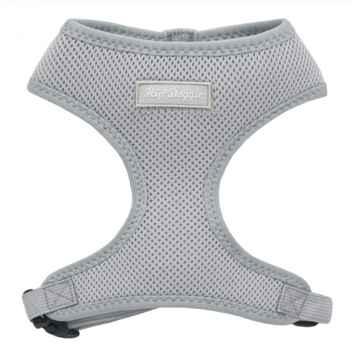 Hip Doggie Grey Mesh Harness