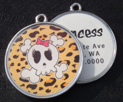 Skulls no.2 Pet ID Tag