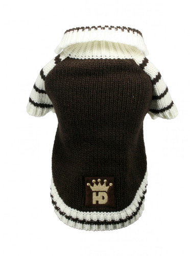 HD Crown Cardigan - Brown