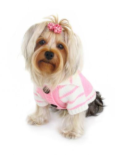 HD Crown Cardigan - Pink