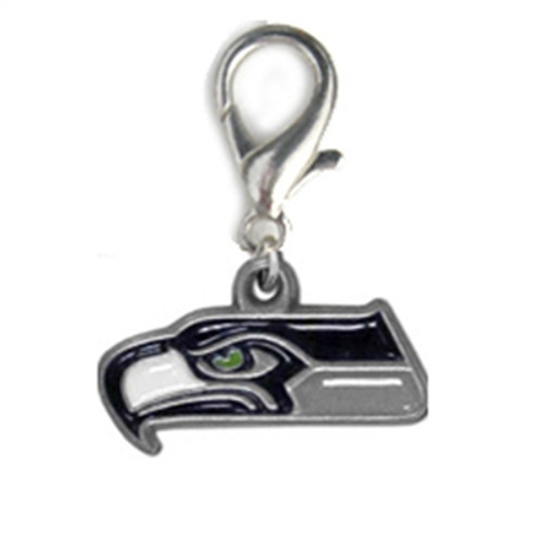 NFL Licensed Seattle Seahawks Logo Collar Charm