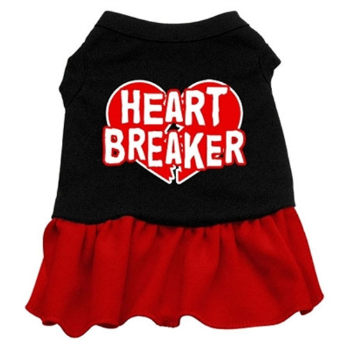 Heart Breaker Dress- Red