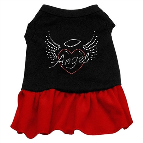 Angel Heart Rhinestone-red