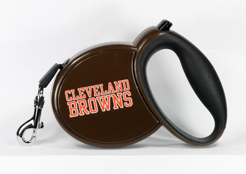 Browns NFL Retractable Pet Leash