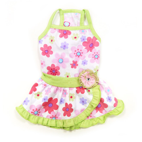 Dogo Dog Floral Summer Dress