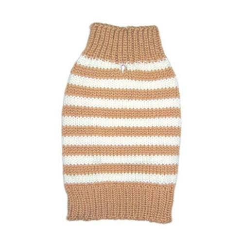 Beige Stripy Lover Sweater