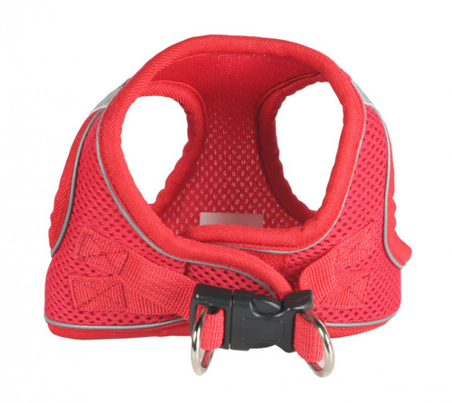 EZ Reflective Sports Mesh Harness Vest - Red