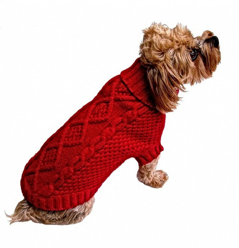 Irish Knit Red