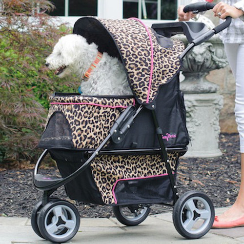 Cheetah Promenade™ Stroller for pets up to 50 lbs