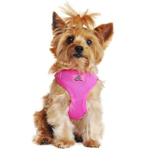 Wrap and Snap Choke Free Dog Harness - Raspberry Pink