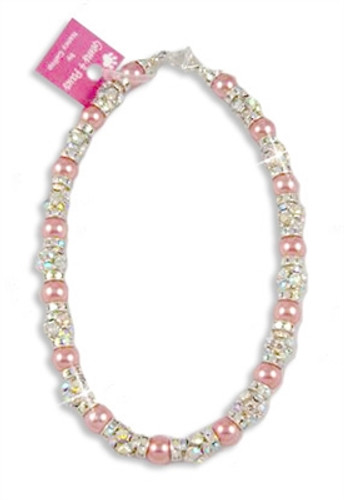 Dolly Pearl Mix Pink & Silver