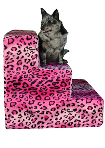 Pet Steps- Hot Pink Cheetah