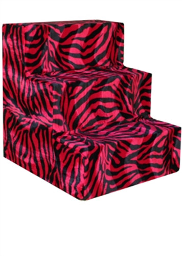 Pet Steps- Red Zebra