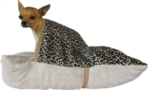 Pet Pockets - Natural Leopard