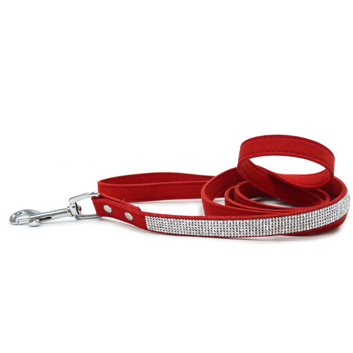 VIP Bling Leash - Red