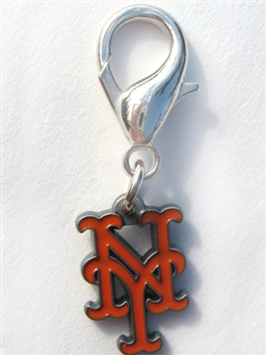 MLB™ Licensed New York Mets Logo Collar Charm