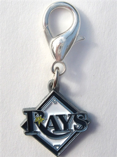 MLB™ Licensed Tampa Bay Rays Logo Collar Charm