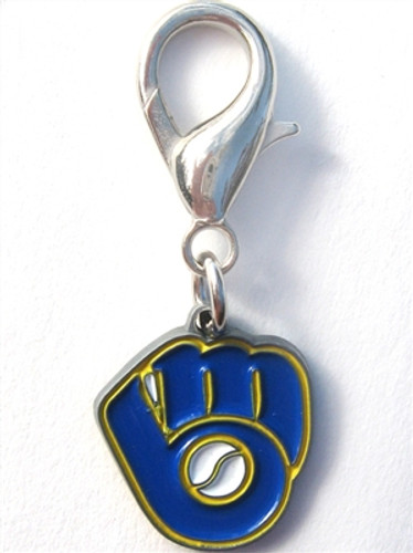 MLB™ Licensed Milwaukee Brewers Logo Collar Charm