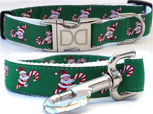 Candy Cane Santa Collection - All Metal Buckles