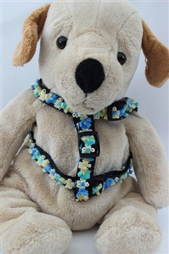 Coco Collection - Blue Step In Harnesses All Metal Buckles