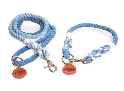 Royal Blue Ombré Dog Leash