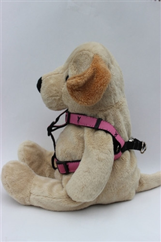 Pink Ribbon Pink Collection - Step In Harnesses All Metal Buckles