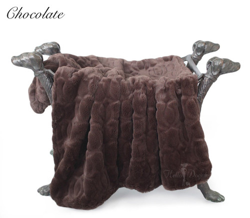 Moscow Blankets - Chocolate