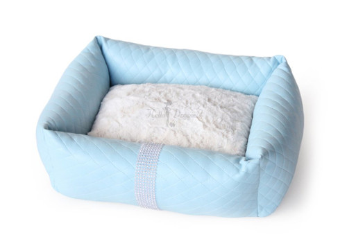 Liquid Ice Luxury Bed - Blue