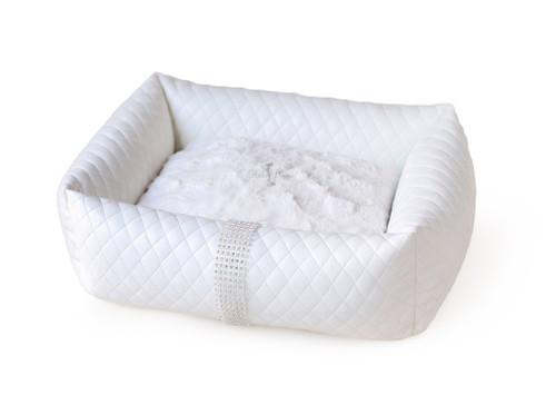 Liquid Ice Luxury Bed - White