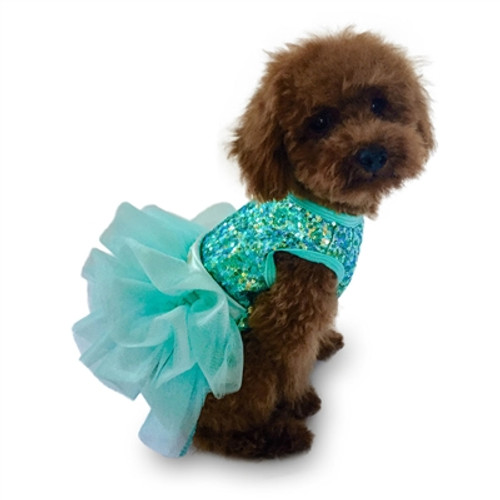 Over the Top Seafoam Tricolor Sequin Fufu Tutu