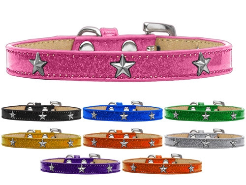 Silver Star Widget Dog Collar Ice Cream