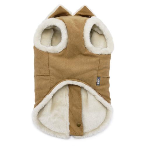 Furry Runner Coat Brown