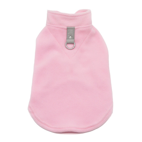 PP Essential Fleece Vest - Pink