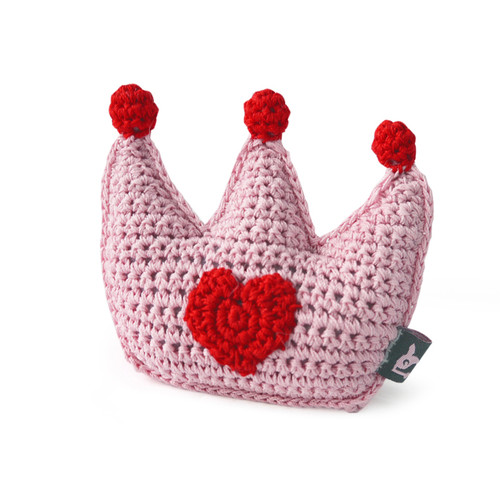 PAWer Squeaky Toy - Crown