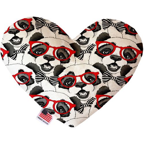 Hip Pandas Heart Dog Toy