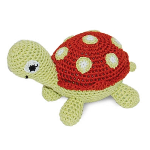 PAWer Squeaky Toy - Turtle