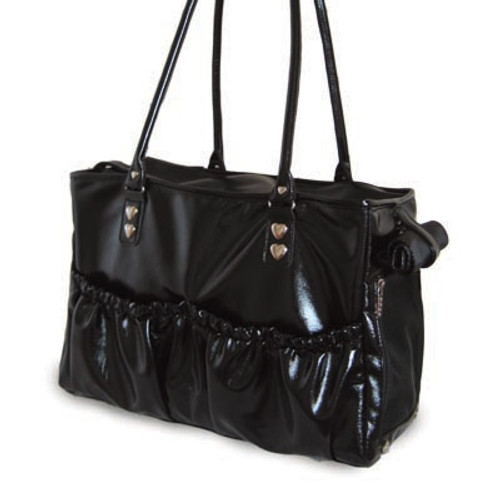 Lux Pleather Tote