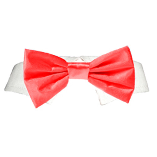 Pooch Outfitters Red Satin Bow Tie