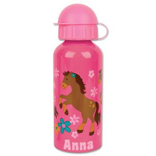 Stainless Steel Water Bottle - Girl Horse