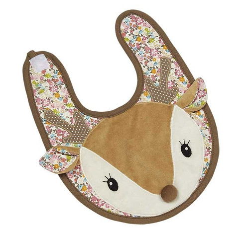 Applique Bib - Farrah Fawn