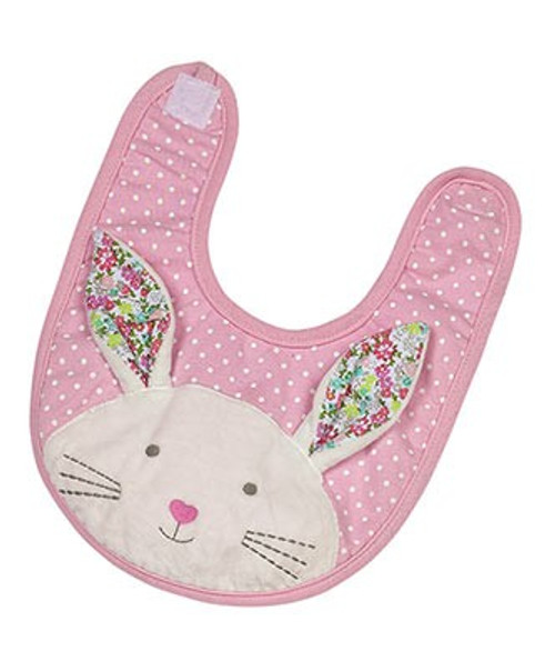 Applique Bib - Beth Bunny