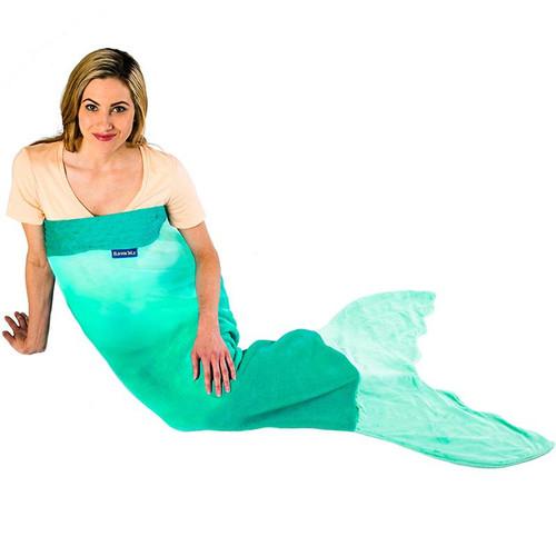Mermaid Blankie Tail - Aqua Ombre