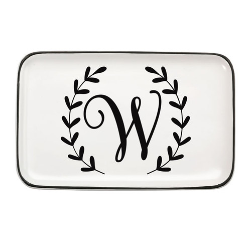 Single Initial Trinket Tray
