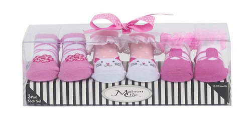 Sock Gift Set - Beth Bunny