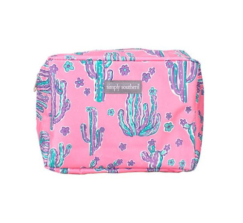 Simply Southern Cosmo Bag - Cactus