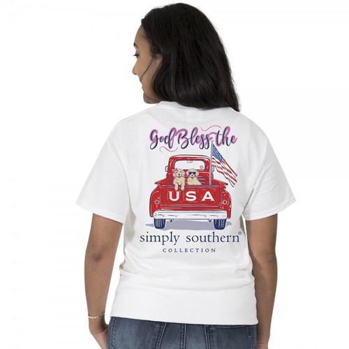 Simply Southern SS Tee - Preppy USA