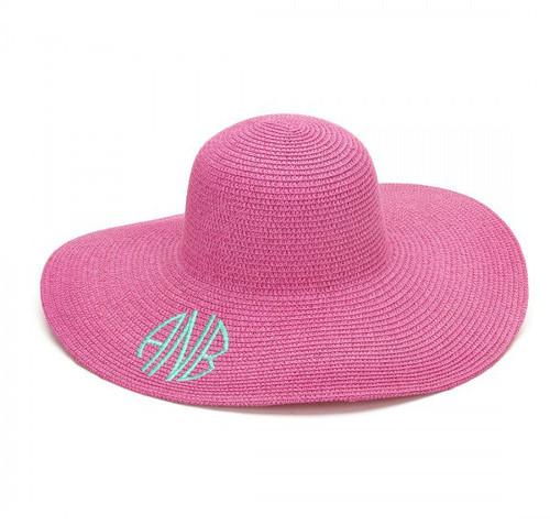 Floppy Sun Hat - Hot Pink