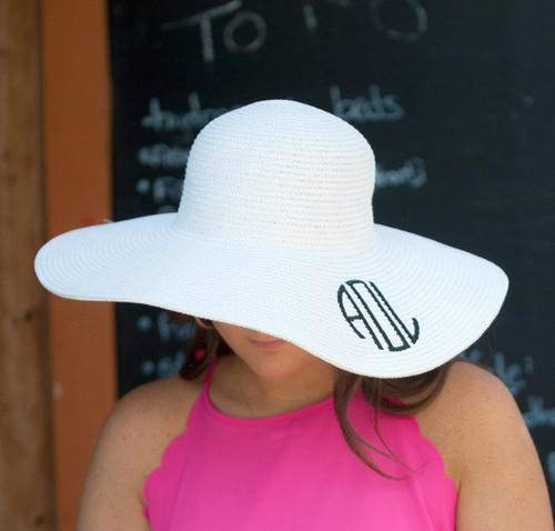 Floppy Sun Hat - White