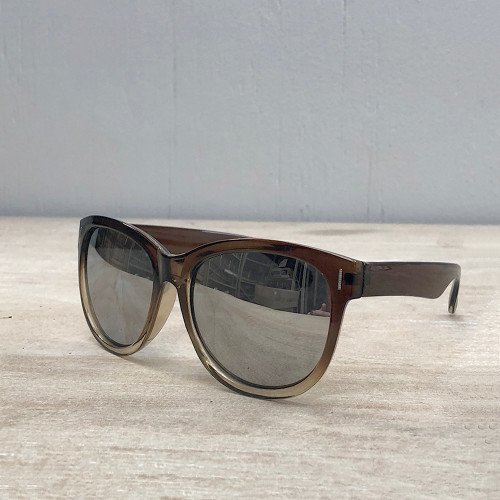 Dayton Sunglasses - Brown & Gray